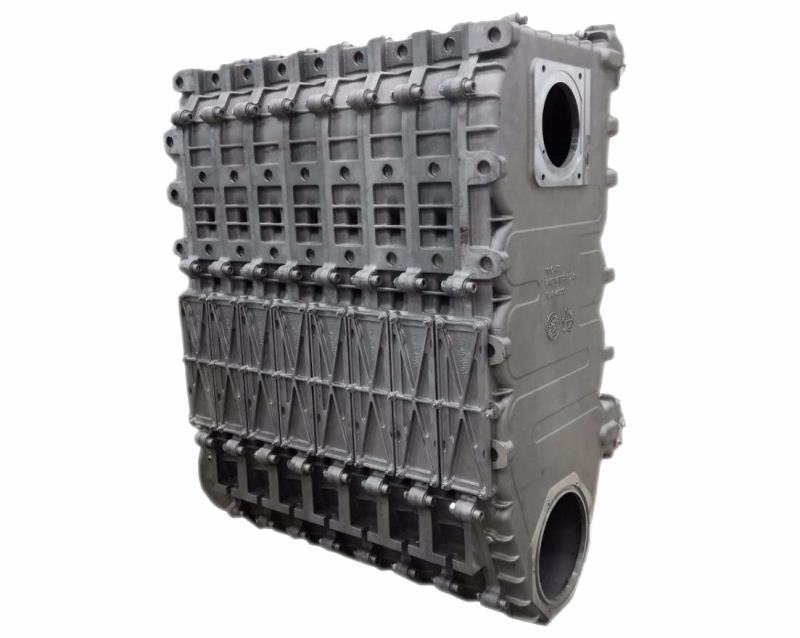 硅铝合金换热器