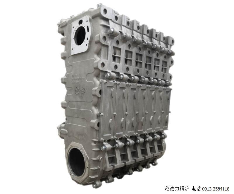 铸硅铝合金换热器