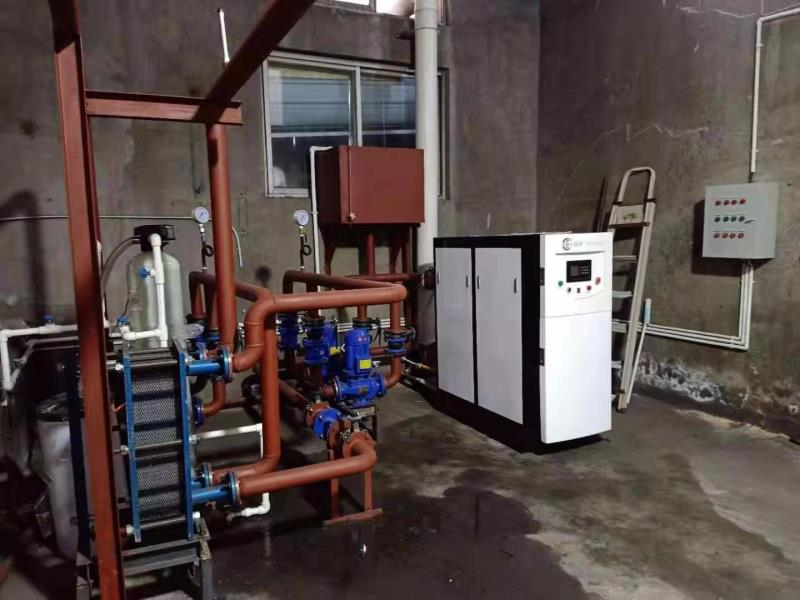 350KW半吨燃气万博官网manbetx卫生院安装案例
