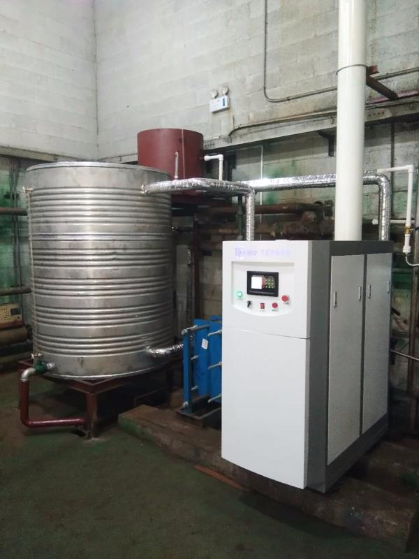 1吨洗浴中心燃气万博官网manbetx700KW安装案例